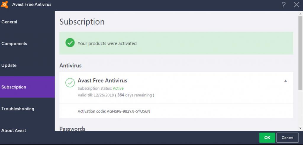 Avast Activation Code (License Key) until 2048!