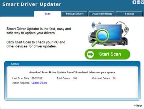 Smart Driver Updater Crack Full + License Keygen {Win + Mac
