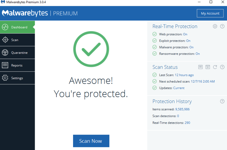 Malwarebytes Anti-Malware Premium 4.0.4.49 key Free 2020