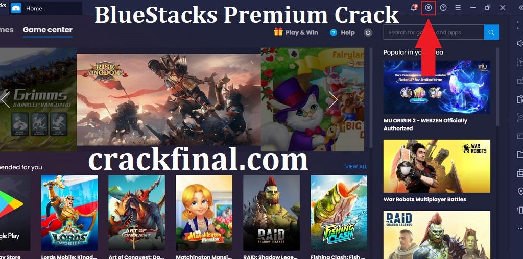 BlueStacks Premium 5.0.0.7129 Crack + Keygen Free Download