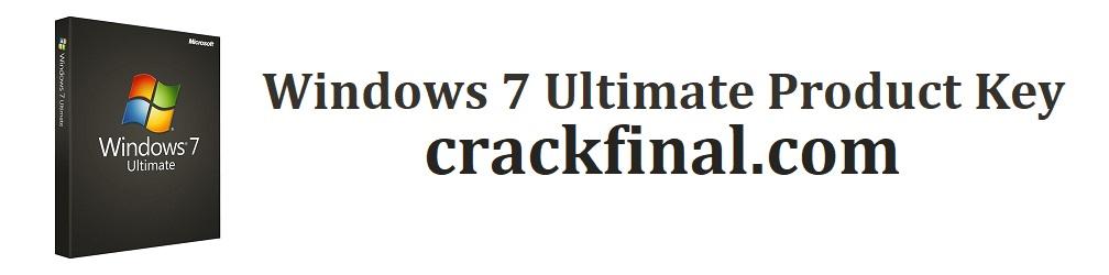 Windows 7 Ultimate Product Key 32-64bit [2021] (UPDATED)