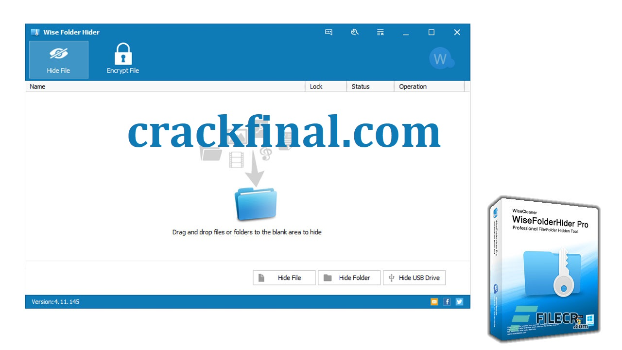 Wise Folder Hider Pro 4.3.8.198 Crack + Activation Key Download [Latest]
