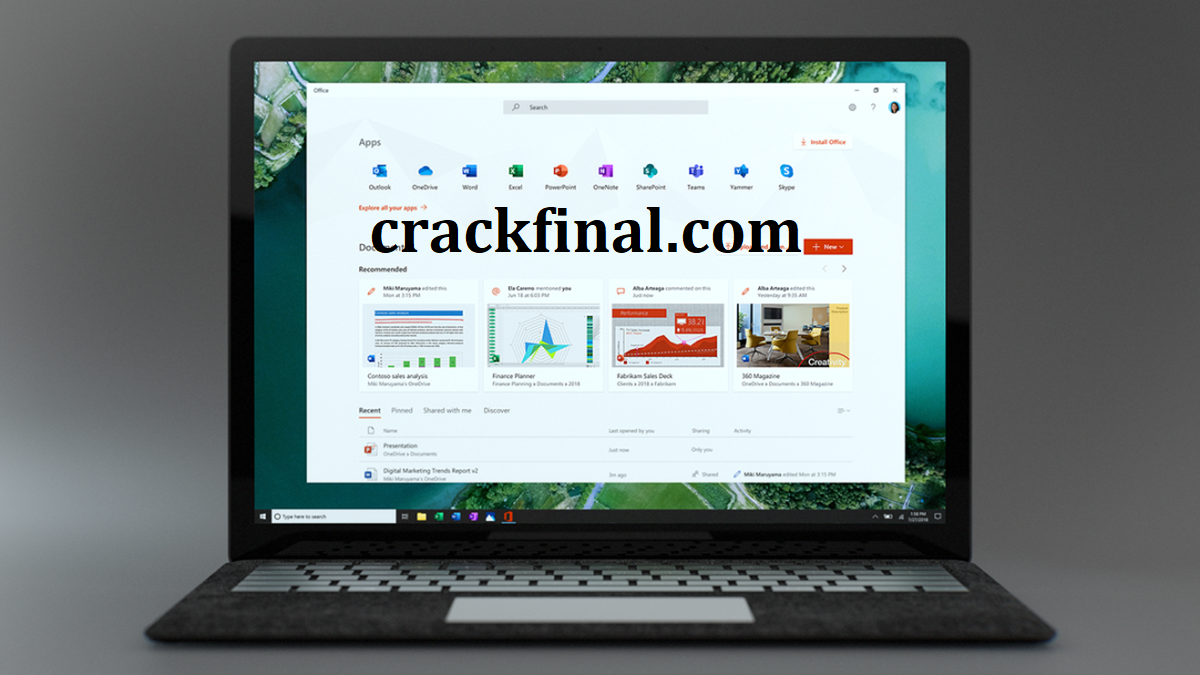 Microsoft Office 2022 Crack + Product Key Full Version Download