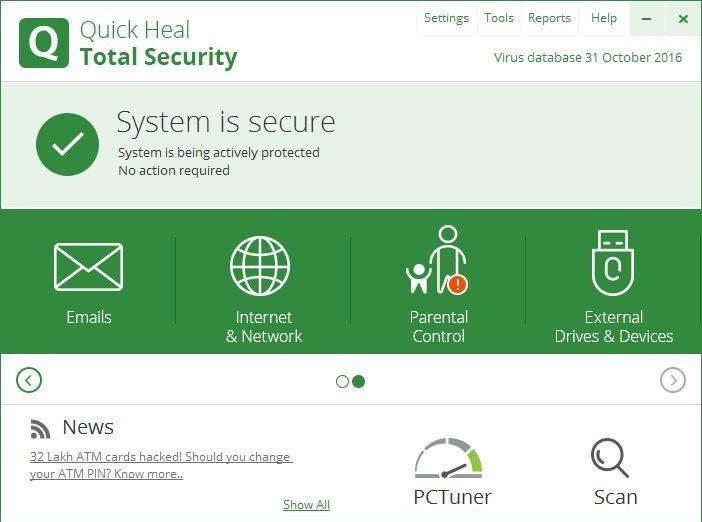 Quick Heal Total Security Lifetime Crack + License Key 2022