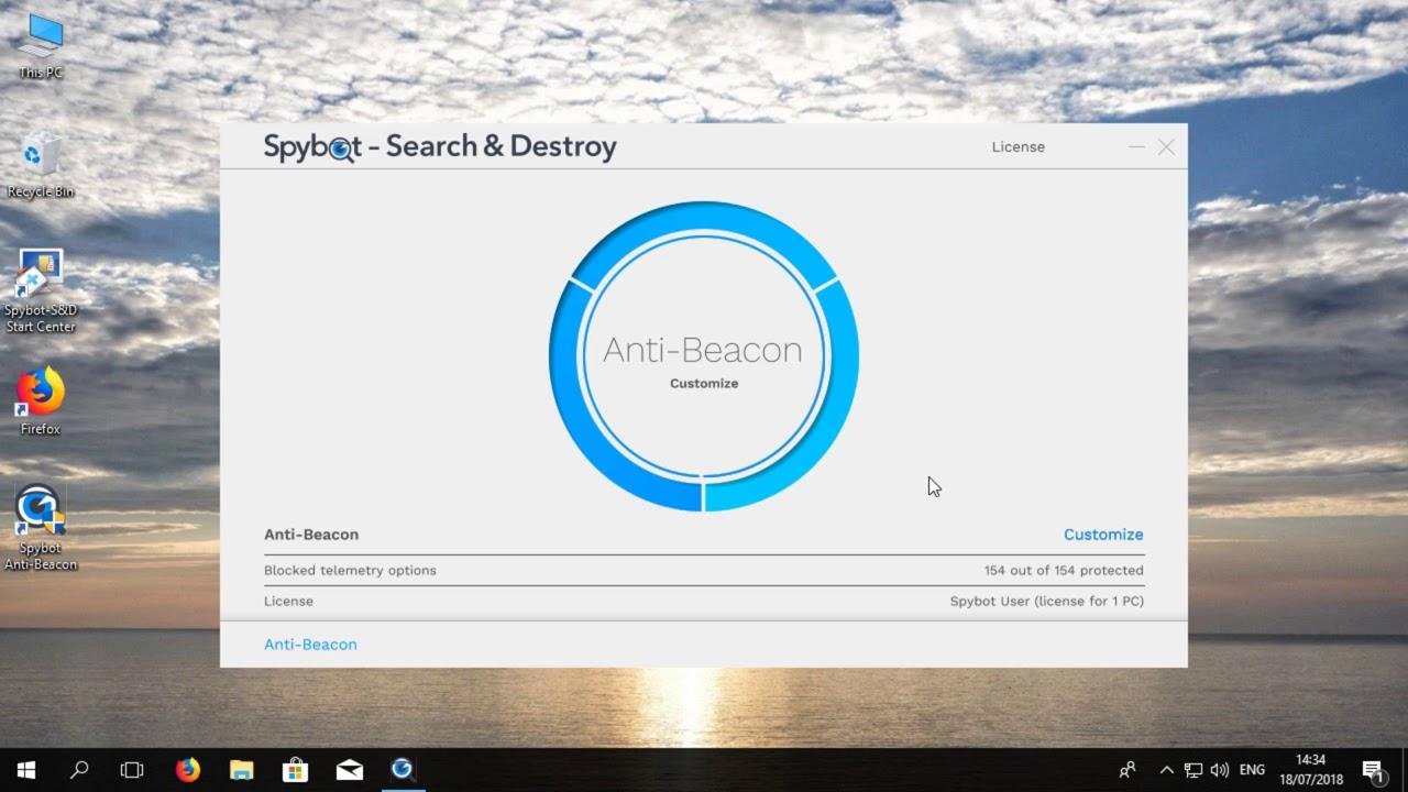 Spybot Anti Beacon Crack Full + License Key Activation Code Latest