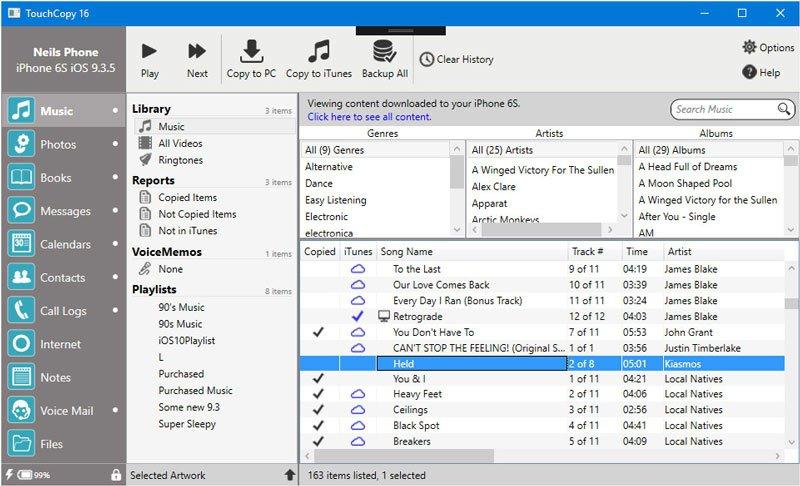 TouchCopy Full Crack + Registration Key Free Download